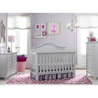 Ti Amo Catania 4-in-1 Convertible Crib Misty Grey
