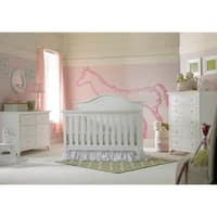 Ti Amo Catania 4-in-1 Convertible Crib Snow White