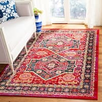 Safavieh Cherokee Red/ Blue Rug (8' x 10')