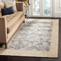 Safavieh Classic Vintage Cream/ Grey Cotton Rug - 8' x 10'