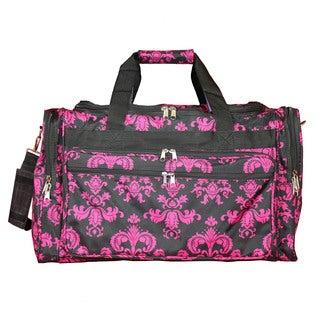 World Traveler Damask 16-inch Lightweight Carry-On Duffle Bag