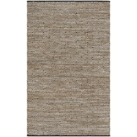 Safavieh Hand-Woven Vintage Leather Beige Leather Rug - 2' x 3'