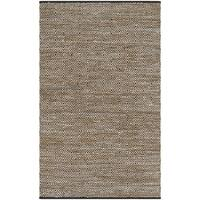 Safavieh Hand-Woven Vintage Leather Beige Leather Rug - 2'3 x 4'