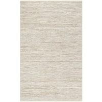 Safavieh Hand-Woven Vintage Leather Beige Leather Rug (2' x 3')