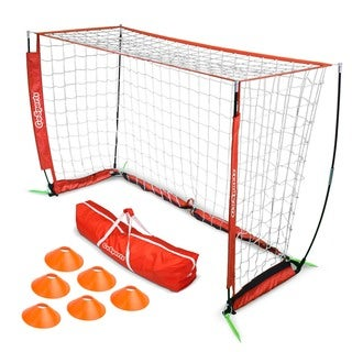 Link to GoSports 6' ELITE Soccer Goal - Includes 1 6' Goal, 6 Cones & Carrying Case Similar Items in Team Sports Equipment