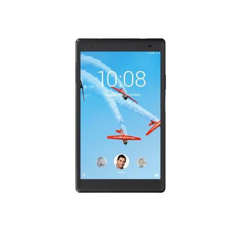 "Lenovo Tab4 8 Plus ZA2H0000US Tablet - 8"" - 2 GB RAM - 16 GB Storage - Android 7.1 Nougat - 4G - Slate Black"
