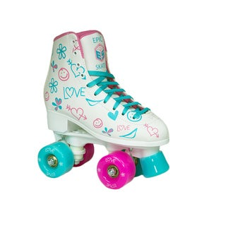 Epic Frost Indoor/Outdoor Fashion High-Top Quad Roller Skates