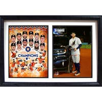 12x18 Double Frame - 2017 World Series Champions Houston Astros
