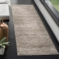 Safavieh New York Shag Grey Rug - 2' x 8'