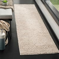 Safavieh New York Shag Light Grey Rug - 2' x 8'