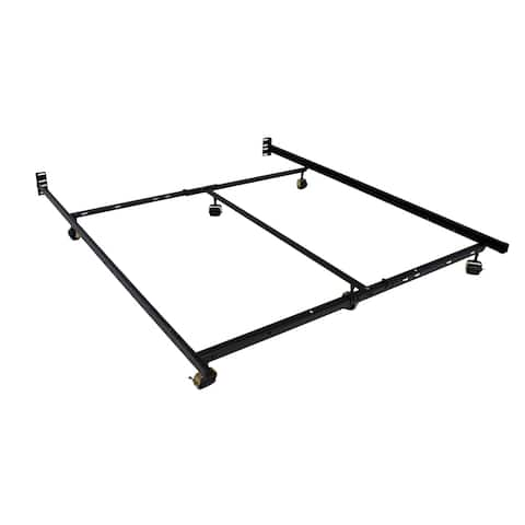 Low Profile Premium Lev-R-Lock® Bed Frame Twin/Full/Queen/Cal King/E. King with 6 Legs