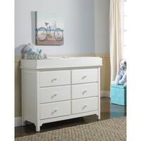 Ti Amo 3000 Series RTA Double Dresser Snow White