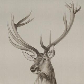 Aurelle Home Elk Acrylic Wall Decor