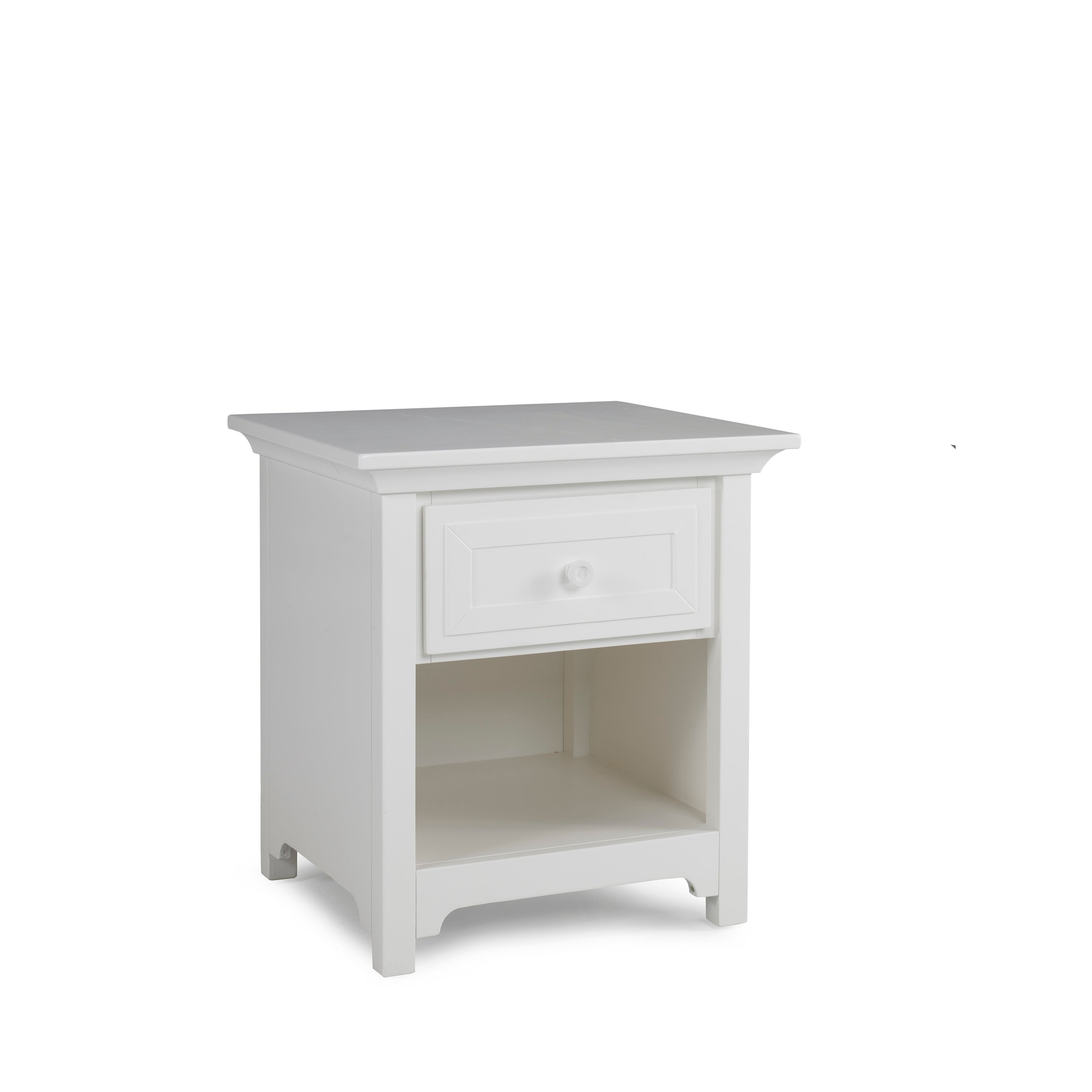 Ti Amo 4000 Series Nightstand Snow White (N/A - 1-drawer ...