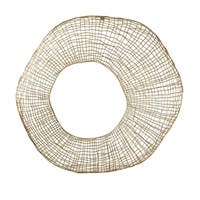 Aurelle Home Gold Metal Wall Decor