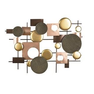 Aurelle Home Hardware Copper Metal Wall Decor