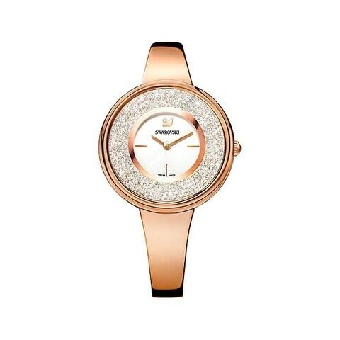 Swarovski Crystalline White Dial Bracelet Women's Watch