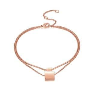 Ankle Bracelet Anklet Rose Gold Geometric Square Adjustable Anklet|https://ak1.ostkcdn.com/images/products/18757461/P24828822.jpg?impolicy=medium
