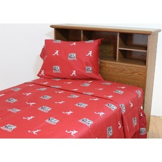 Alabama Crimson Tide 100% Cotton Sheet Set