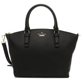 Kate Spade New York Jackson Street Small Dixon Leather Satchel Black