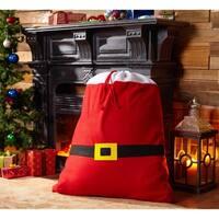 Santa's Belt Mistletoe & Co. Christmas Sack