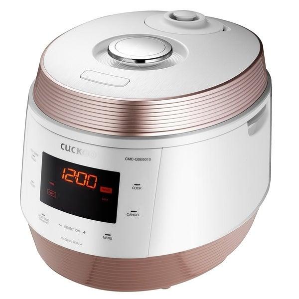 Pressure Cooker, Slow Cooker, Rice Cooke... Cuckoo 8 in 1 Multi Pressure cooker