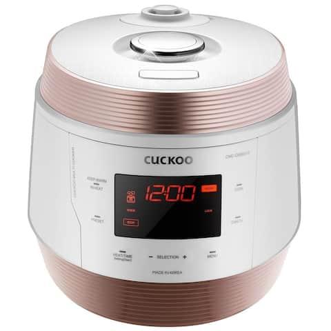 Cuckoo 8 in 1 Multi Pressure cooker. Made in Korea, White, CMC-QSB501S