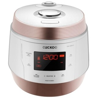 Cuckoo 8 in 1 Multi Pressure cooker. Made in Korea, White, CMC-QSB501S