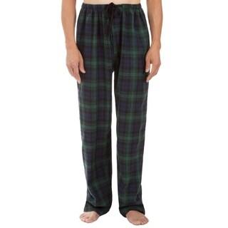 Leisureland Men's Green Plaid Pajama Pants (4 options available)