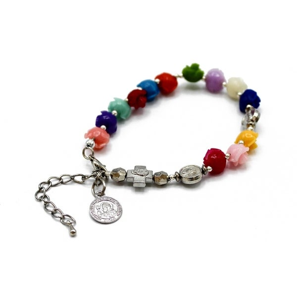 Shop Indian Rose Resin Beads in 13 Solid Colors with St