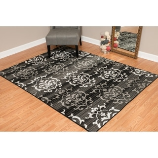 Westfield Home Montclaire Germaine Grey Runner Rug - 2'3 x 7'2""
