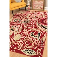 """Westfield Home Montclaire Ginger Blue Area Rug - 5'3"""" x 7'2"""""""