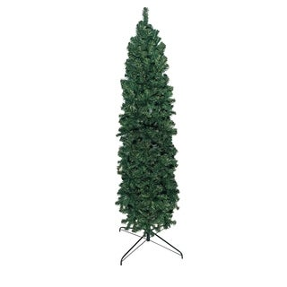 7' Slim Pencil Unlit Christmas Tree