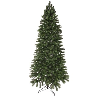 8' Slim Norway Spruce Artificial Unilt Christmas Tree