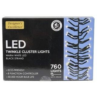 "299"" Twinkle Cluster Lights"