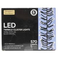 "224"" Twinkle Cluster Lights"