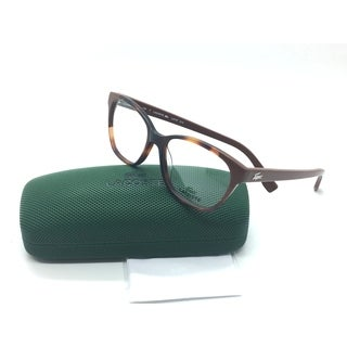 Lacoste Modified Square Tortoise Brown Eyeglasses Frame L 2737 214 51MM