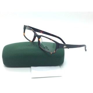 LacosteRectangle Tortoise eyeglasses Frame 51 19 135 L 2616 214