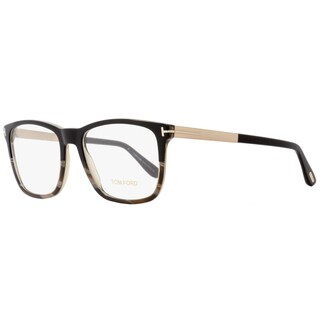 Tom Ford TF5351 005 Unisex Black/Horn/Gold 54 mm Eyeglasses