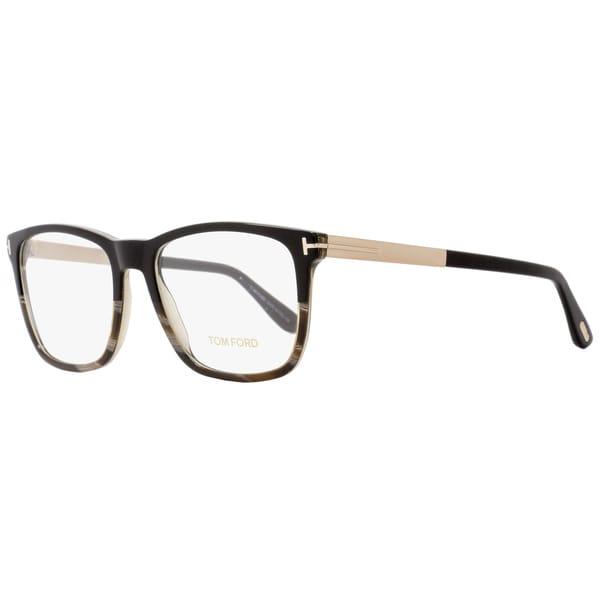 29acc609fa11 Shop Tom Ford TF5351 005 Unisex Black Horn Gold 54 mm Eyeglasses ...