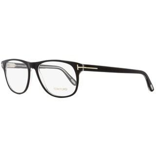 Tom Ford TF5362 005 Unisex Black/Crystal 55 mm Eyeglasses