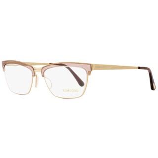 Tom Ford TF5392 050 Womens Transparent Brown/Gold 54 mm Eyeglasses