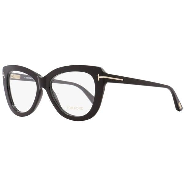 a8a8bdc0ab Shop Tom Ford TF5414 001 Womens Black 53 mm Eyeglasses - Free ...