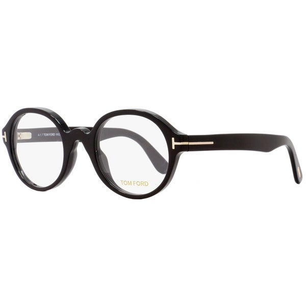 7304f89da4e Shop Tom Ford TF5490 001 Unisex Black 51 mm Eyeglasses - Free .