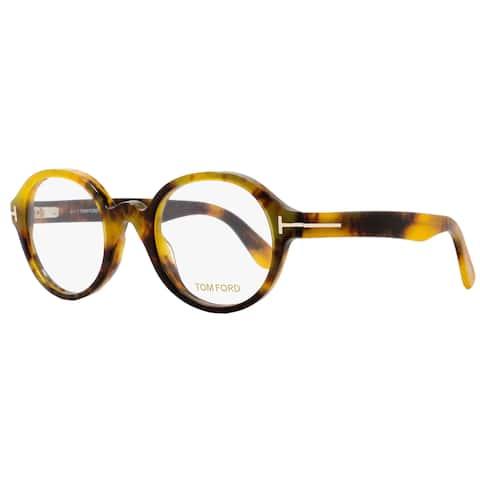 Tom Ford TF5490 056 Unisex Honey Havana 51 mm Eyeglasses