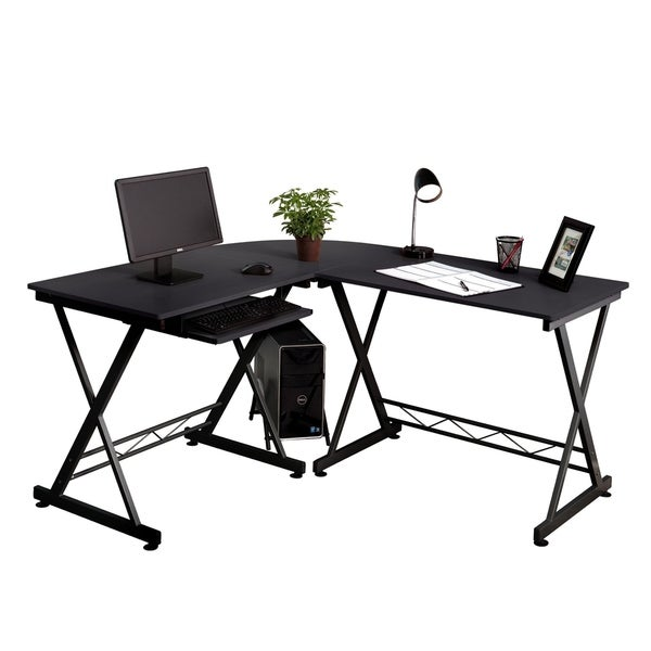 Fineboard Home Office L-Shaped Corner Desk - Free Shipping Today ...