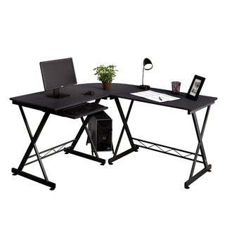 Fineboard Home Office L-Shaped Corner Desk (3 options available)