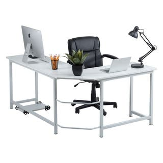 Fineboard Stylish L-Shaped Office Computer Corner Desk Elegant & Modern Design|https://ak1.ostkcdn.com/images/products/18778849/P24849097.jpg?impolicy=medium