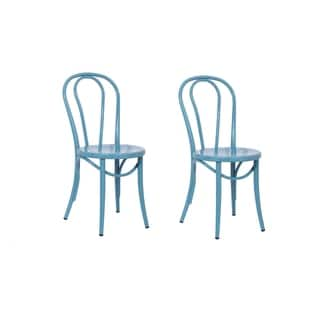 Buy Blue Industrial Kitchen Dining Room Chairs Online At Overstock