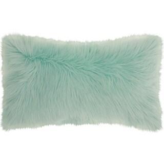 "Mina Victory Fur Remen Poly Faux Fur Seafoam Throw Pillow (14"" x 24"")|https://ak1.ostkcdn.com/images/products/18778859/P24849119.jpg?_ostk_perf_=percv&impolicy=medium"
